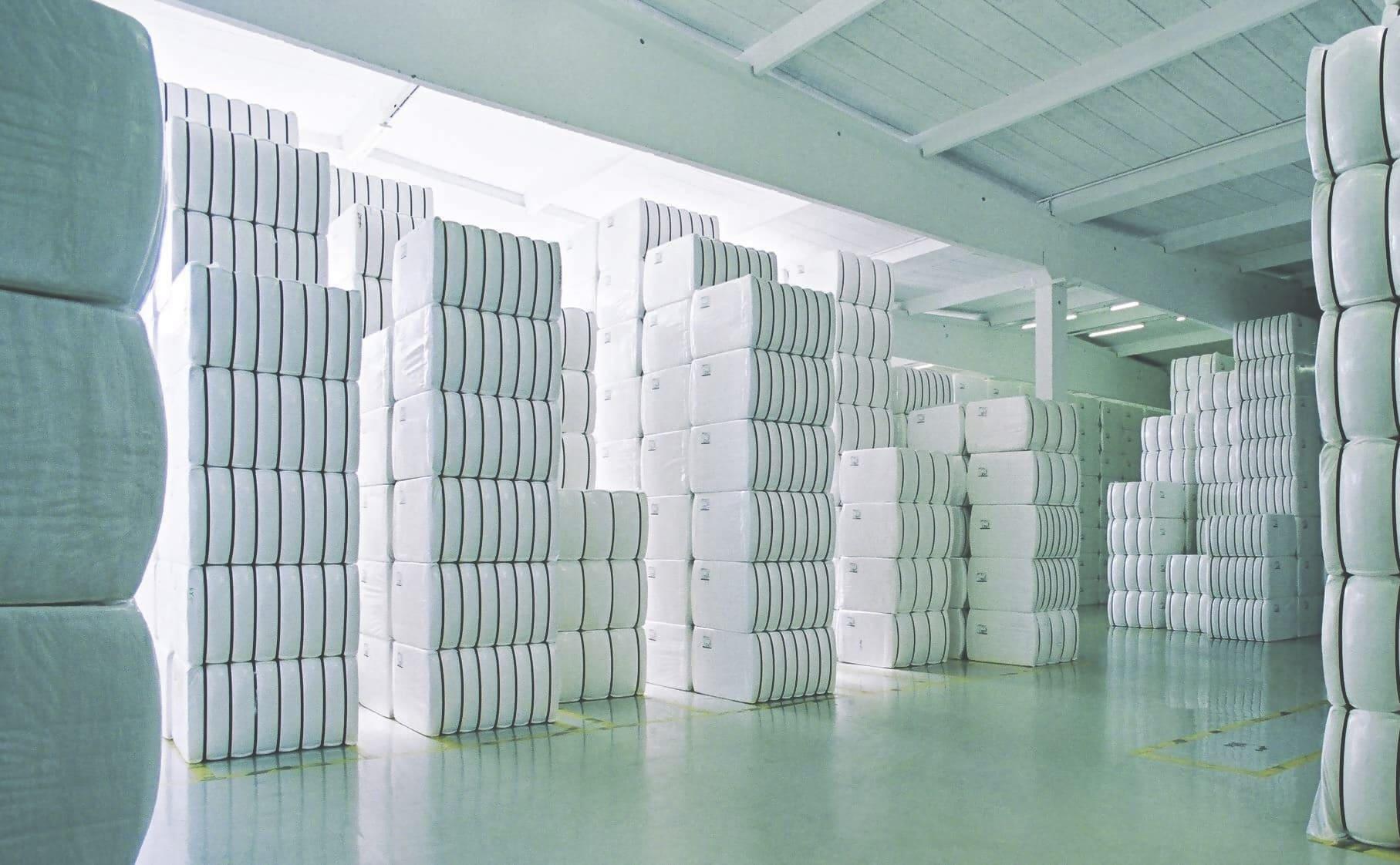 Ballenlager Bale Storage FC Lenzing AG 1